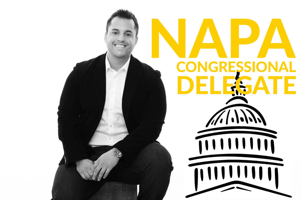 Three Bell Capital - Andre Huaman - NAPA Congressional Delegate